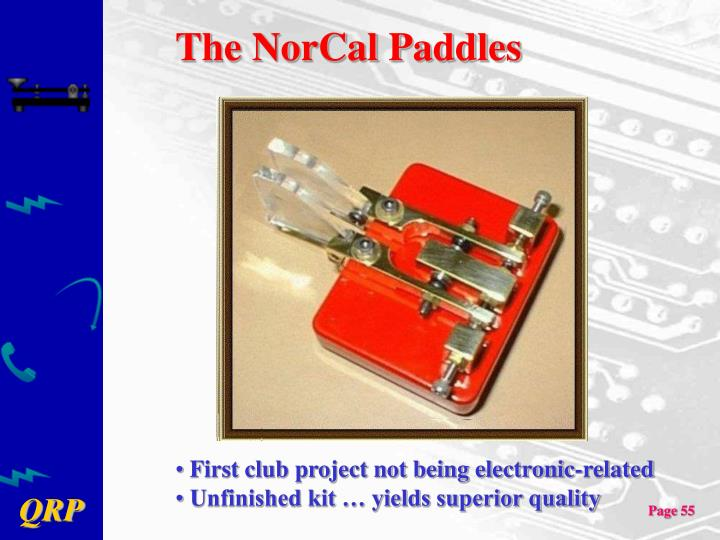 The NorCal Paddles