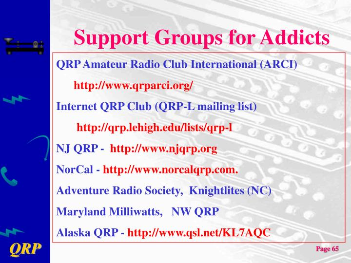 Support Groups for Addicts