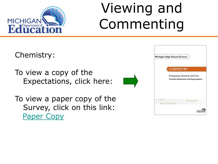 Viewing and Commenting