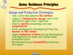 some guidance principles