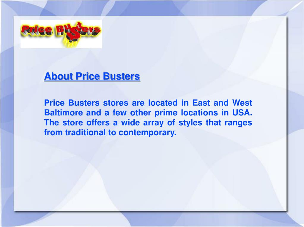 About Price Busters