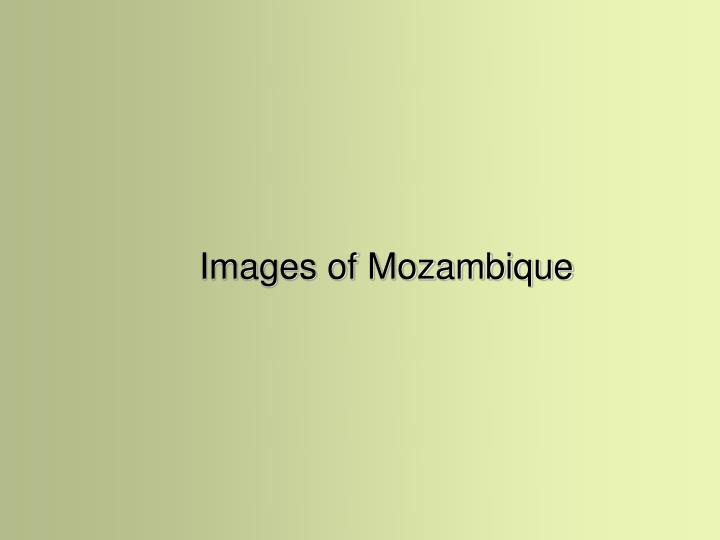 Images of Mozambique