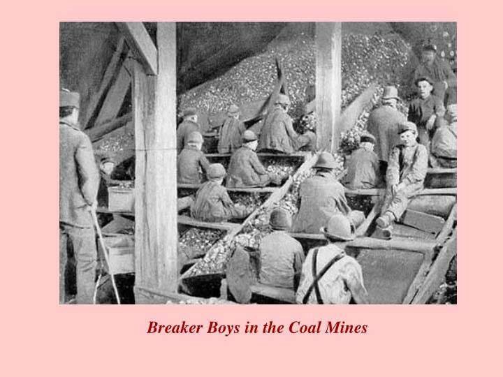 Breaker Boys in the Coal Mines