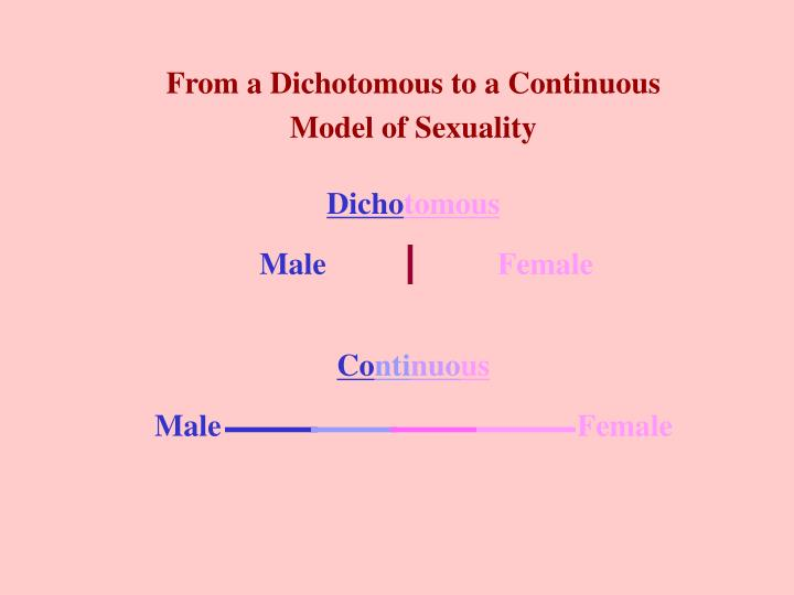 From a Dichotomous to a Continuous