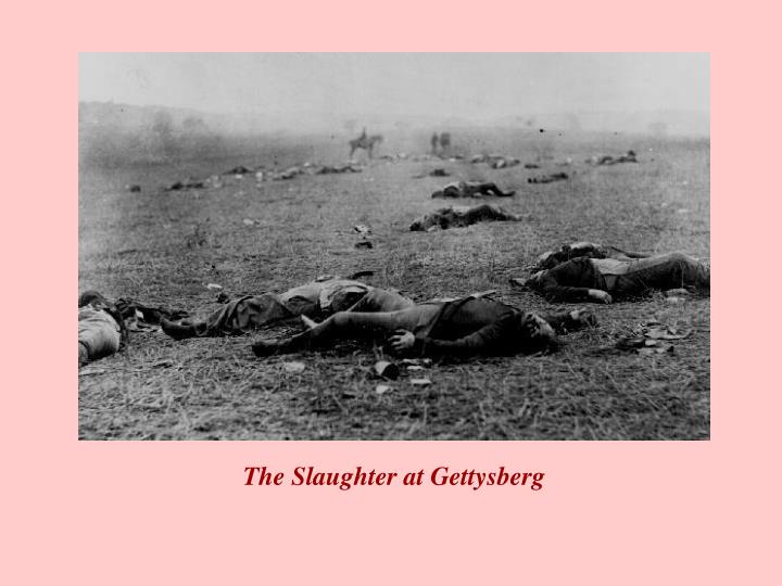 The Slaughter at Gettysberg
