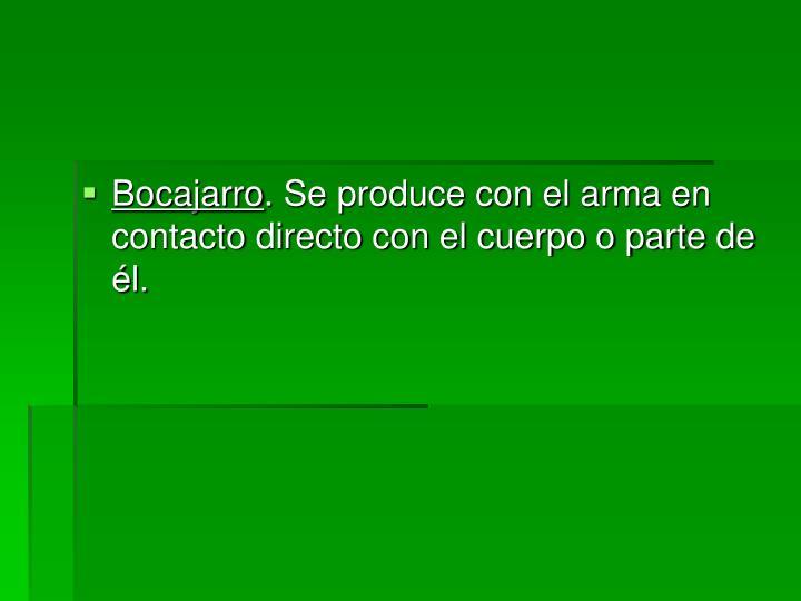 Bocajarro