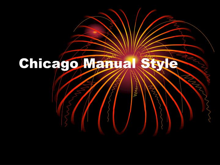 chicago manual of style pdf download