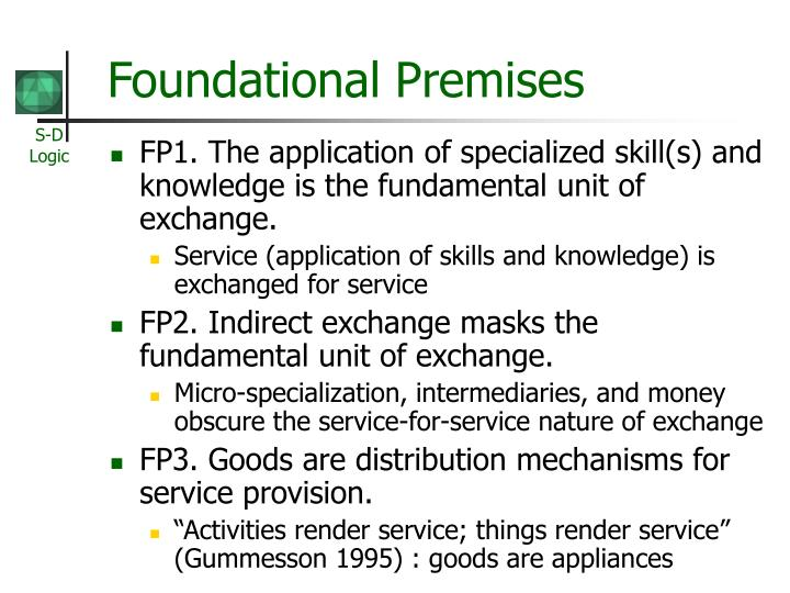 Foundational Premises