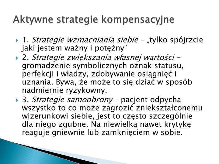Aktywne strategie kompensacyjne