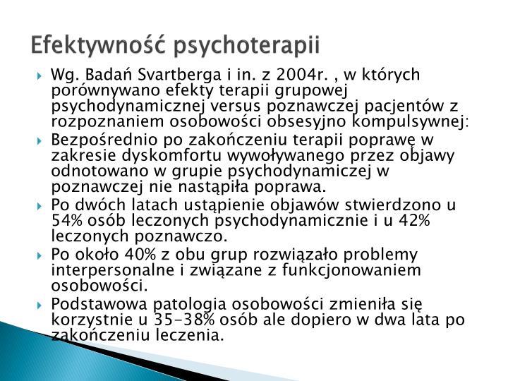 Efektywność psychoterapii