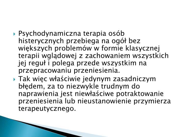 Psychodynamiczna