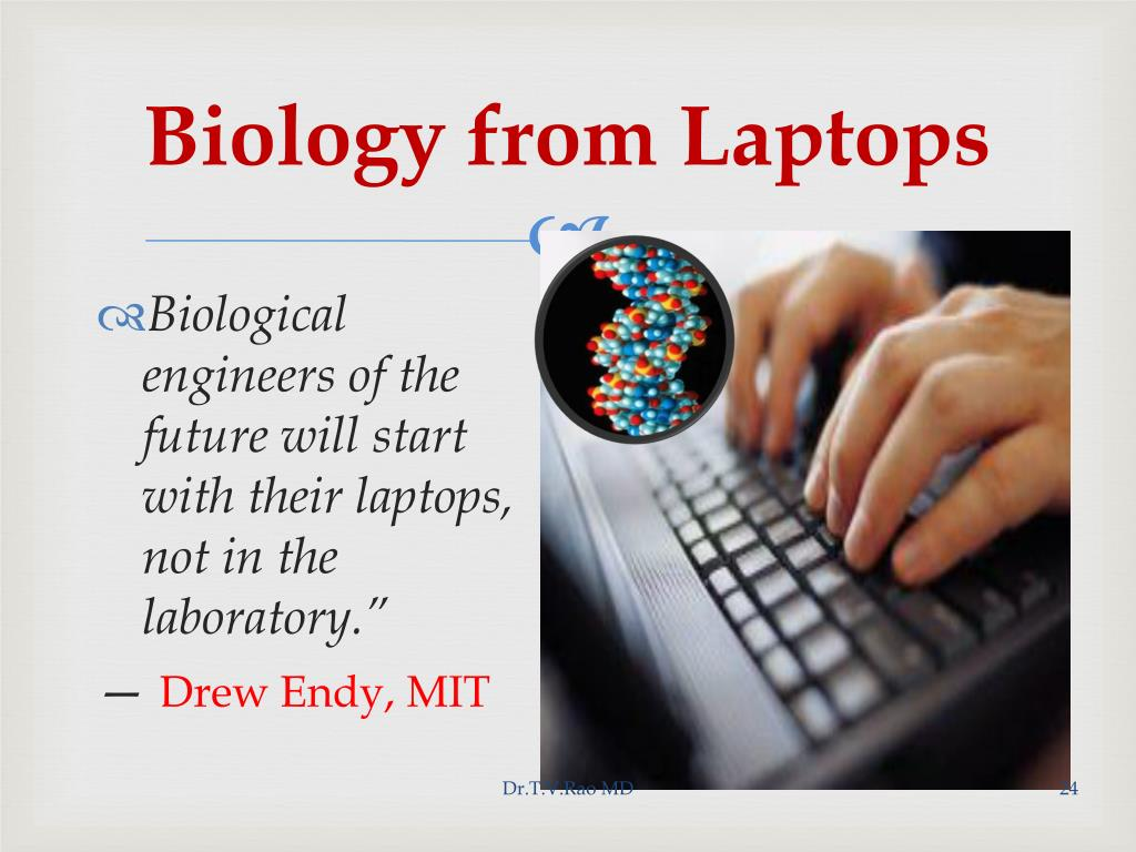 Biology from Laptops