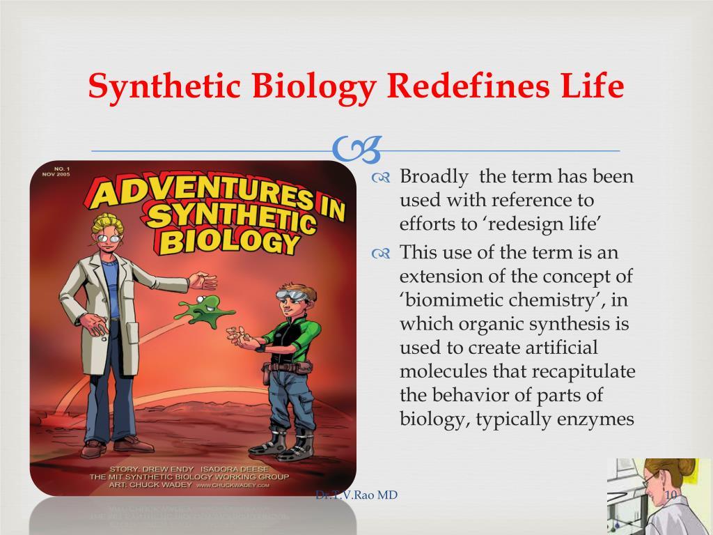 Synthetic Biology Redefines Life
