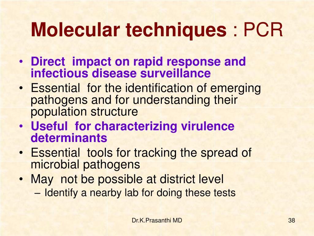 Molecular techniques