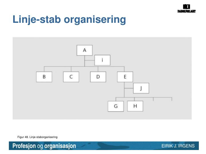 Linje-stab organisering