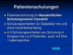 patientenschulungen