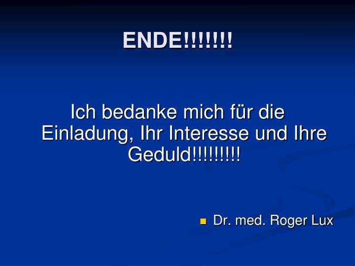 ENDE!!!!!!!