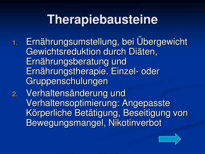 Therapiebausteine
