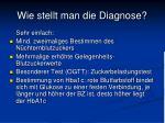 wie stellt man die diagnose