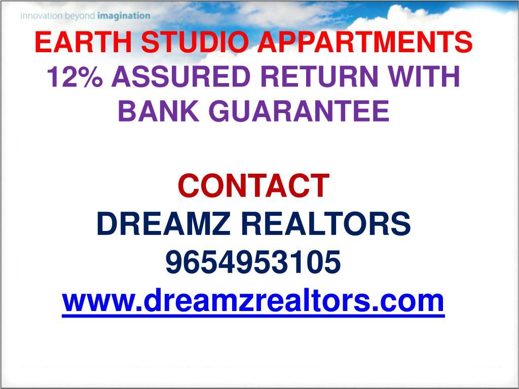 EARTH STUDIO APPARTMENTS