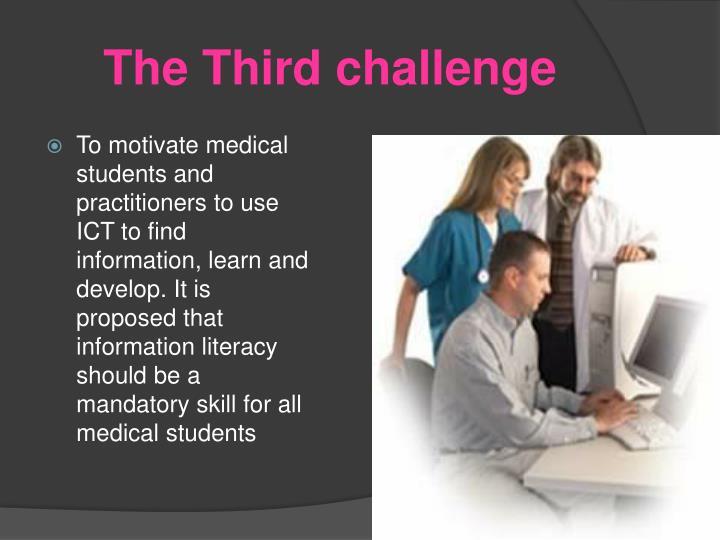 The Third challenge