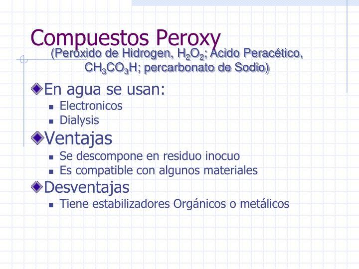 Compuestos Peroxy