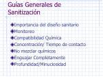 gu as generales de sanitizaci n