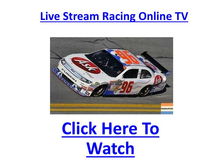 Live stream racing online tv