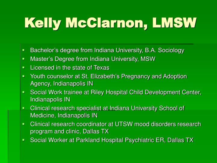 Kelly McClarnon, LMSW