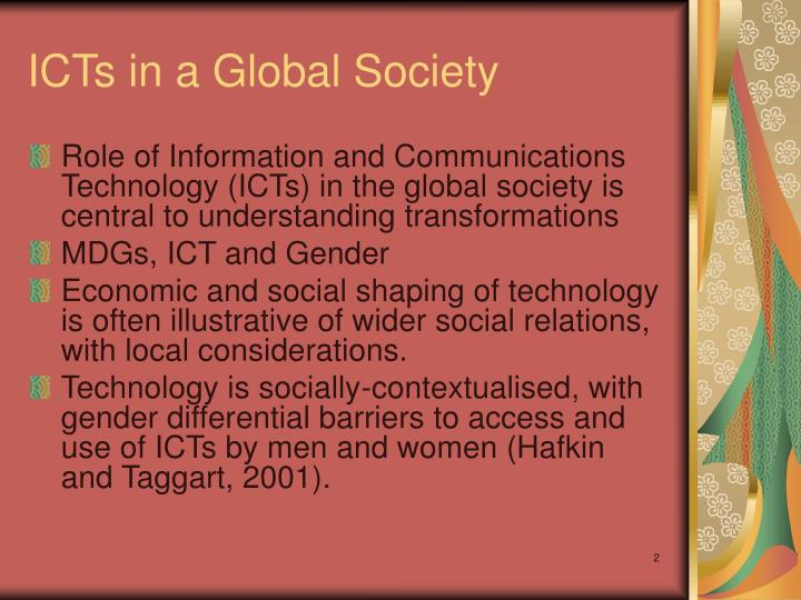 Icts in a global society
