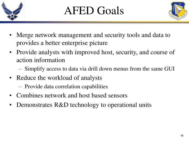 AFED Goals