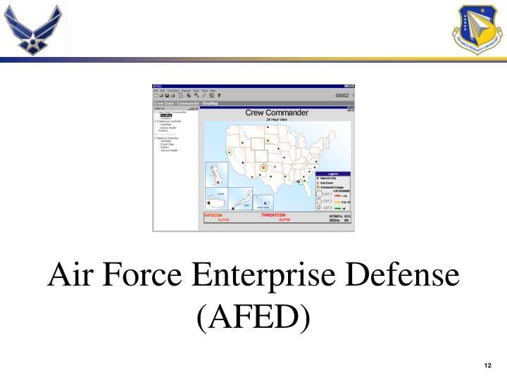Air Force Enterprise Defense (AFED)