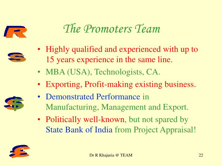 The Promoters Team