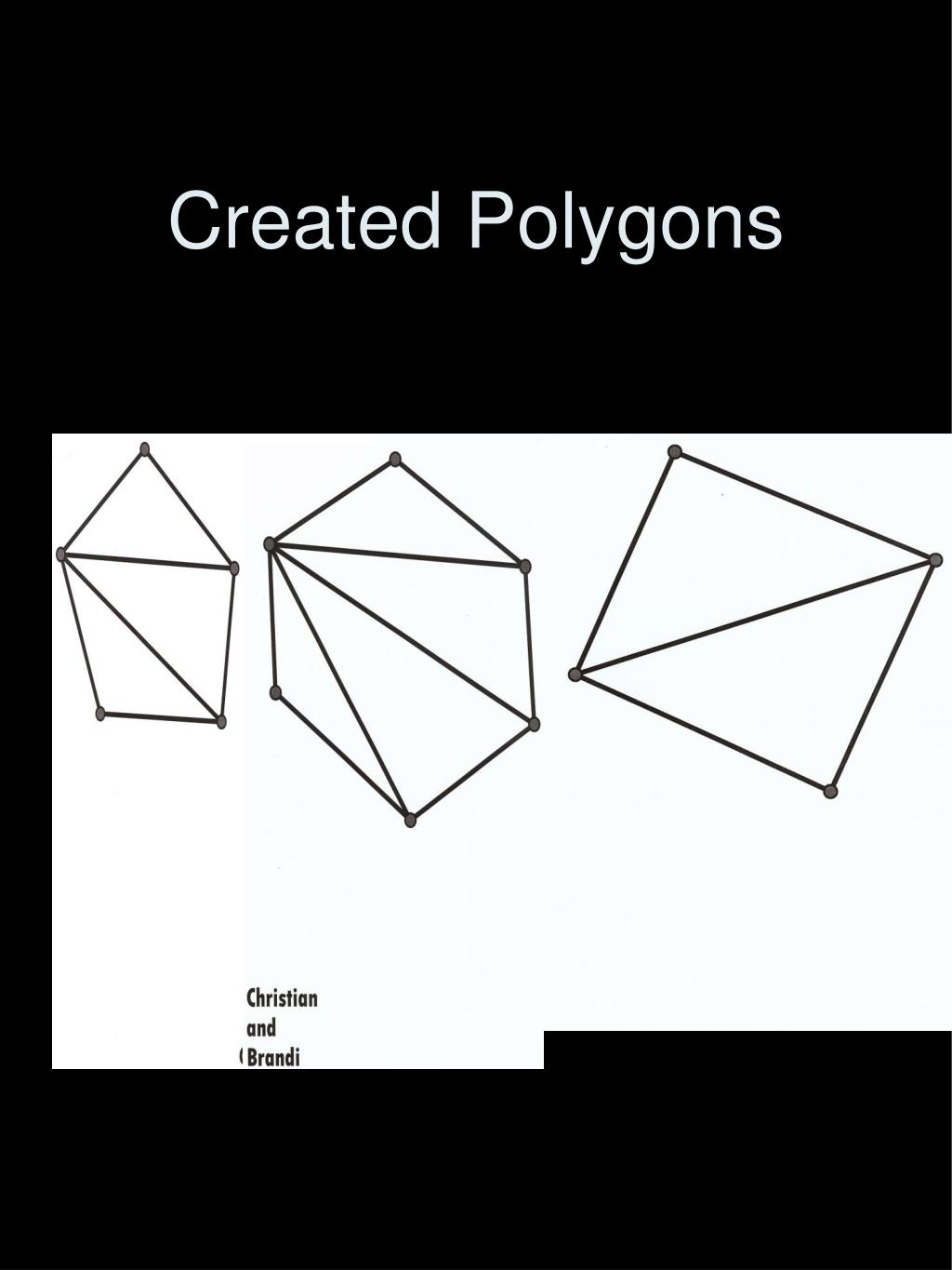 Created Polygons