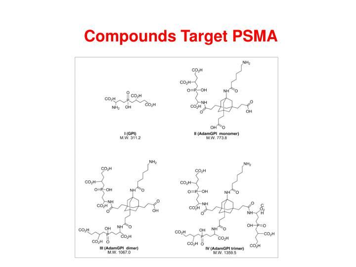 Compounds Target PSMA