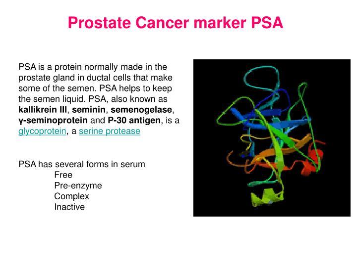 Prostate Cancer marker PSA