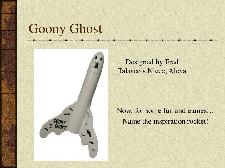 Goony Ghost