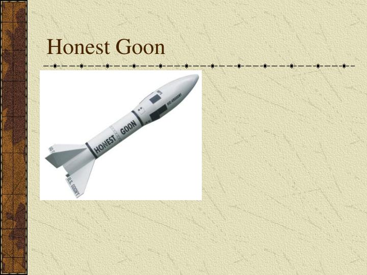 Honest Goon