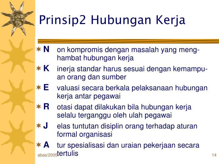 Prinsip2 Hubungan Kerja