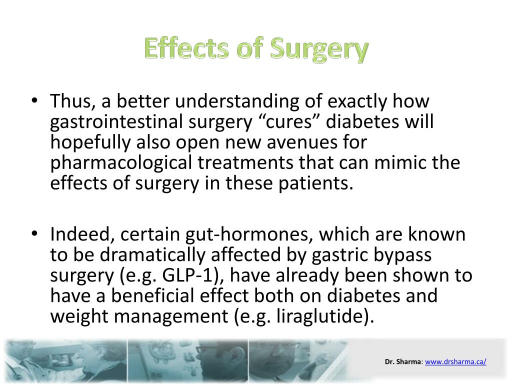 Effects of Surgery
