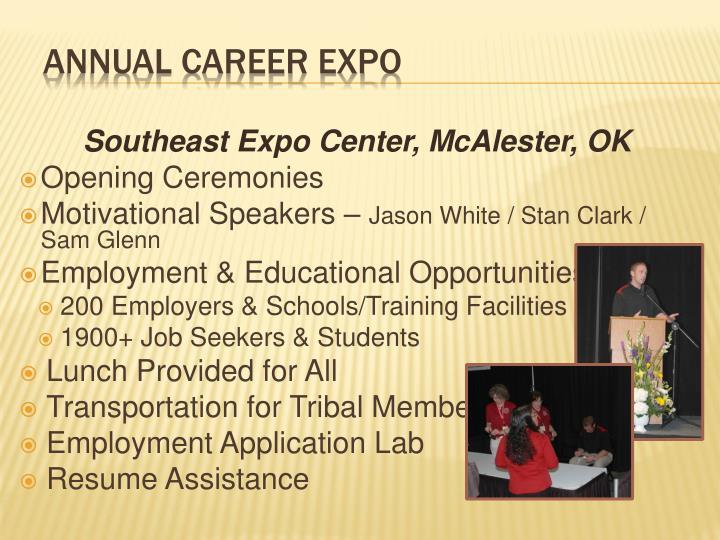 Southeast Expo Center, McAlester, OK
