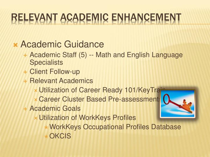 Academic Guidance