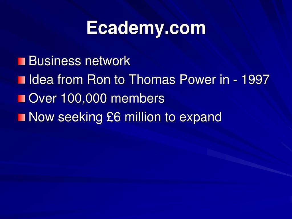 Ecademy.com