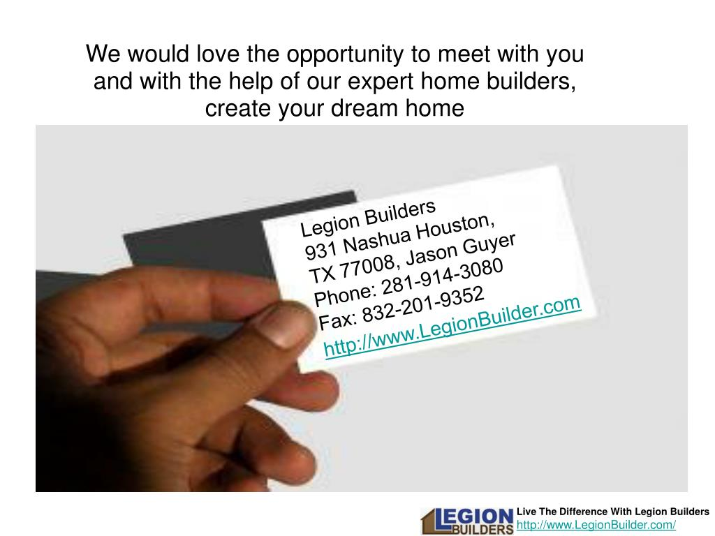 We would love the opportunity to meet with you and with the help of our expert home builders, create your dream home
