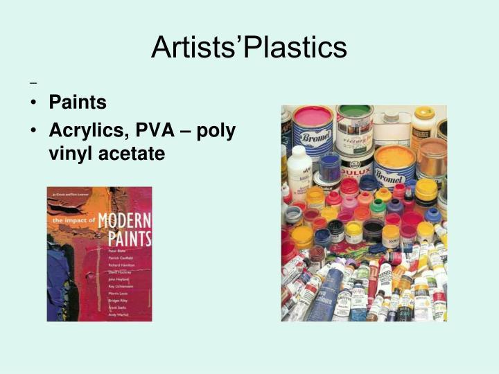 Artists'Plastics