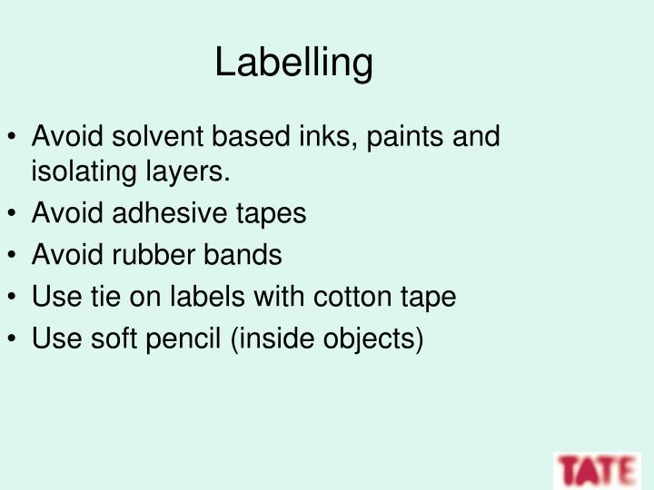 Labelling