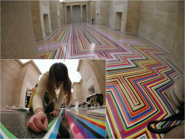 Jim Lambie Tate Britain 2001