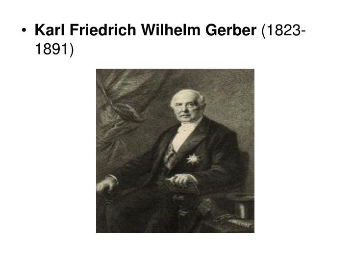 Karl Friedrich Wilhelm Gerber