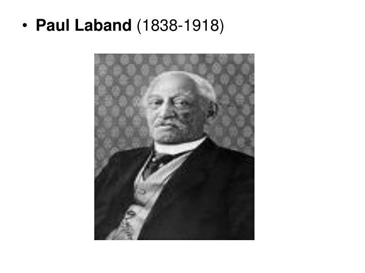 Paul Laband