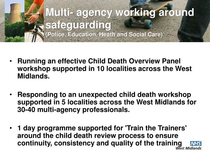 Multi- agency working around safeguarding